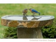 Boulder Birdbath