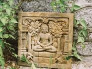Cast Buddhist Plaque