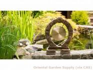 Cast Buddhist Gong