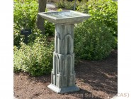 Cast Art Deco Birdbath
