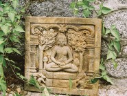 Cast Buddhist Plaque