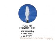 Medium Foaming Fountain Head