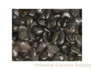 Polished Pebble-Black 1/2-1 1/2 inch