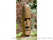 Cast Tiki Head Easter Island