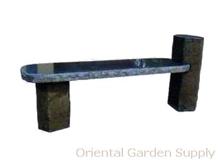 Basalt Column Bench