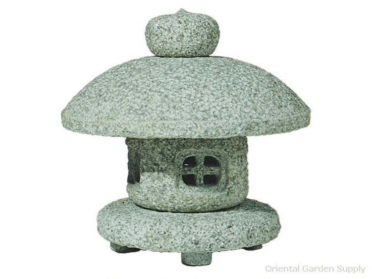 Granite Snow Lantern