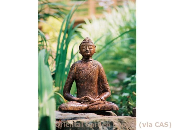 Cast Med Mongolian Buddha